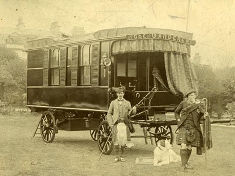100th Year Anniversary of the Touring Caravan
