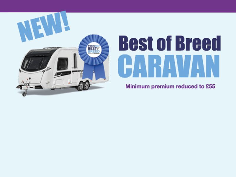 Brand New Best of Breed Caravan Product